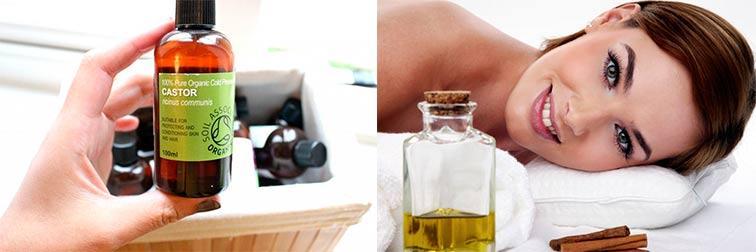 Касторовое масло от морщин в области глаз