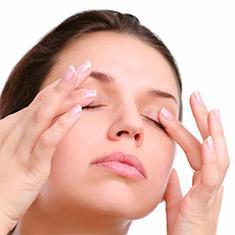 Массаж от морщин вокруг глаз