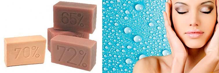 Хозяйственное мыло от морщин