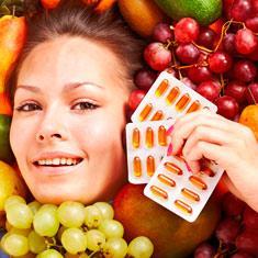 Какие витамины пить от старения кожи