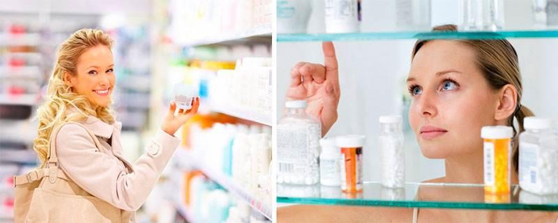 Выбор аптечного средства от морщин