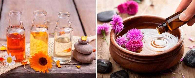 Рецепты с эфирными маслами против морщин