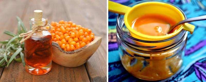 Масло облепихи против морщин