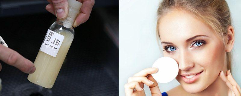 Сперма от морщин на лице