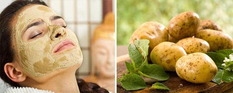 Картофель для маски от морщин