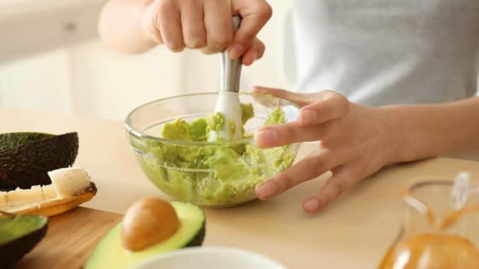 Маски из авокадо