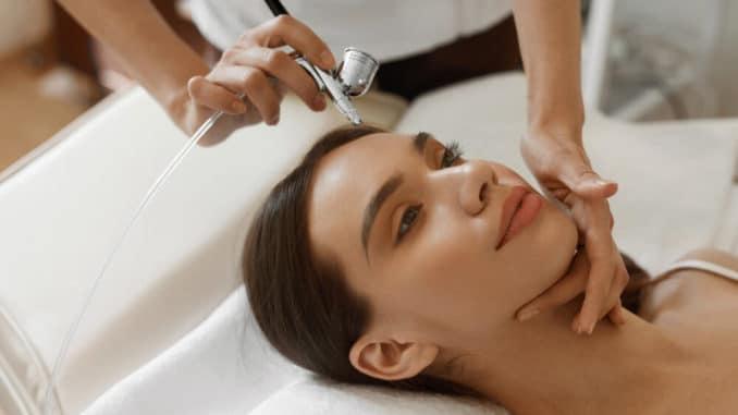 Кислородная процедура для лица